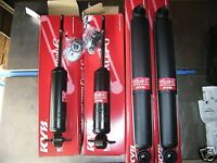HOLDEN HQ HJ HX HZ WB  UTE TONNER KYB FRONT AND REAR SHOCK KIT .