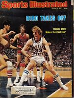 1979 Sports Illustrated Basketball Larry Bird Indiana State NCAA Final Four~Fair