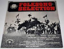 """Disque LP 33 tours 12"""" BLUES : Folksong Selection * Excellent"""