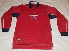 2000 2002 SELECCION CHILE HOME UMBRO S LONG SLEEVE JERSEY WORLD CUP NWOT