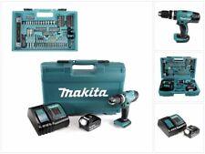 Makita DHP 453 FX12 Schlagbohrschrauber 18V 42Nm + 1x 3Ah + Lader + 101tlg. Set