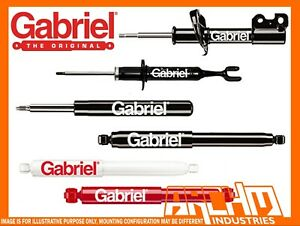 FIAT 124 SEDAN & COUPE 4/1967-1976 FRONT & REAR GABRIEL CLASSIC SHOCK ABSORBERS