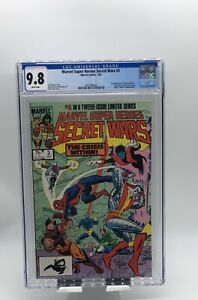 Marvel Super Heroes Secret Wars #3 CGC 9.8 WP 1st App Volcana & New Titania