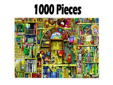 Premium (1000pc) Advanced Bookshelf Jigsaw Puzzle Educational Hobbies