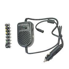 Universal 80w Auto Cargador Auto Adaptador De Energía dc suministro Set + 8 Intercambiables