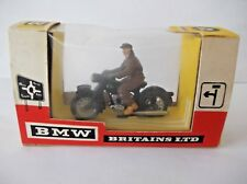 BRITAINS BMW & RIDER . Cat-no 9688 BOXED