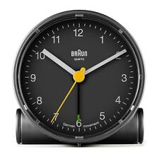 Braun Design BNC001 klassisch Wecker, BKBK, 66003, tolles Design,schwarz,NEU+OVP