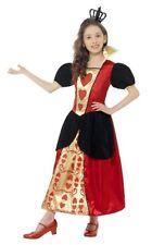 Smiffys Children's Miss Hearts Costume Dress & 3d Felt Crown Size S Colour