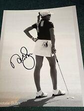 Natalie Gulbis Golf Signed 8x10  Photo COA