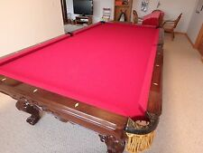 RENAISSANCE TOURNAMENT POOL TABLE BY CHARLES PORTER