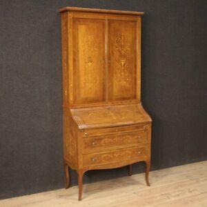 Trumeau Secretary Desk Furniture Fore Wooden Inlaid Antique Style Louis XVI 900