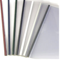 24mm - Aluminum - 100pcs UniBind SteelMat Frosted Covers