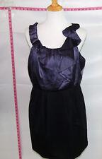 BC BG Maxazria Purple Women dress Sz L  # 4934 Batch 167