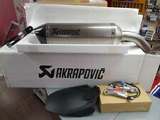VFR800F titanium Akrapovic, quickshifter and hugger