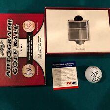 2012 Leaf Autograph Golf Ball PSA/DNA PGA Steve Stricker Signed