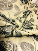 SUPER LUXURIOUS JACQUARD CURTAIN UPHOLSTERY FABRIC 4.2 METRES