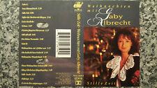 Musikkassette Gaby Albrecht / Weihnachten mit ...