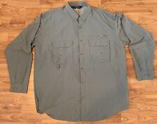 Redington Vented Fishing Shirt XXL UPF/30+ Button-Front Long Sleeve