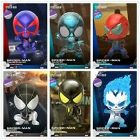 Hot Toys COSBABY COSB617-624 Marvel Spider-Man Bobble-Head PVC Figure Collection