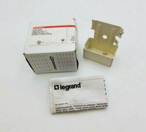 Wiremold Legrand V3010AE Entrance Blank End Fitting 3000 Series Raceway Ivory