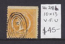 Nsw: 8d Yellow Diadem Used, Sg 218b