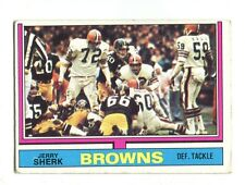 1974 Topps #211 Jerry Sherk Cleveland Browns