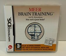 Nintendo DS Brain Training van Dr. Kawashima *** COMPLETE *** DS *** NL ***