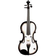 Barcus-Berry Vibrato-AE Acoustic-Electric Violin Outfit - Black & White Tuxedo