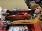 2015 jada r/c SRT hellcat challenger red hyper charges 1/18 scale Dodge Recharge