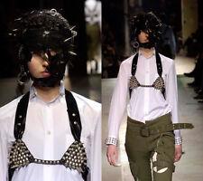 AD2006 Comme Des Garcons Pank Studs White Blouses