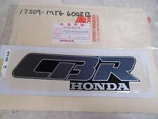 NOS OEM Honda Left Mark (Type2) 1990 CBR600F-L Hurricane 17509-MT6-600ZB