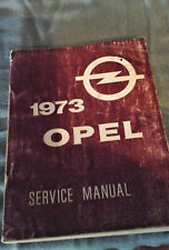 1973 Opel Repair Manual