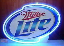 "New Miller Lite Beer Neon Sign 24""x20"" From USA"