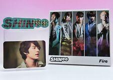 CD+DVD+Photo card+Sticker SHINee Fire Japan  Limited Edition Minho