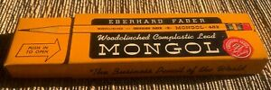 Vintage EBERHARD FABER  MONGOL Pencils No. 482  NEVER OPENED