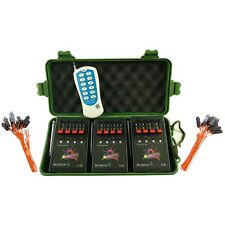 12Cue BILUSOCN Wireless Fireworks Firing system+24pcs Safety Igniters+party