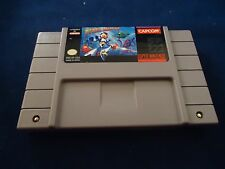 Mega Man X (Super Nintendo SNES, 1993) game WORKS! Megaman