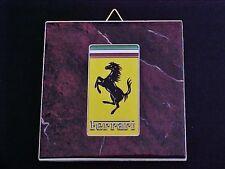 Ceramic Tile Ferrari Prancing Horse Made In Italy_NEW_OEM