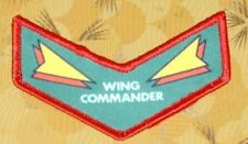 ~ Atari Video Game Vintage 80's Activision Patch -- Starmaster Wing Commander ~