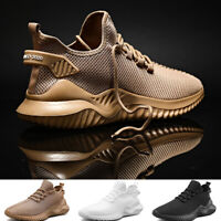 Men's Running Jogging Shoes Breathable Athletic Casual Sneakers Outdoor Walking
