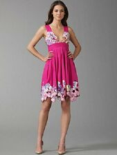 $495 CATHERINE MALANDRINO PINK SAMBALA CUT-OUT EMBROIDERY COTTON DRESS  6
