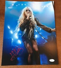 The Pretty Reckless Taylor Momsen Signed AUTOGRAPHED 11x14 Photo Jsa