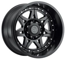 20x12 Black Rhino Hammer 8x170 ET-44 Matte Black Wheels (Set of 4)