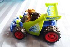 Disney Pixar Toy Story 3 Shake N' Go Talking Woody W Rc Race Car Toy! Mattel 6�