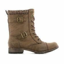 Womens Rocket Dog Billie Heirloom Boots In Brown