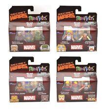 Marvel Minimates Secret Wars Series 64 Complete Set of 8 (4 2-packs) NEW