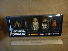 Rare Star Wars Tomy Kubrick 5-Pack - Luke, R5, K-3PO, Ten Numb & Wicket