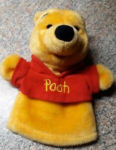 "Winnie the Pooh Hand Puppet stuffed/plush 9"" Mattel"