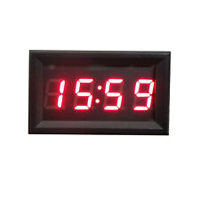 NEW Car Scooter Motorcycle Accessory 12V/24V Dashboard LED Display Digital Clock