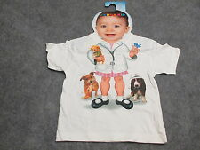 "Add A Kid T-Shirt ""Girl Doctor or Veterinarian"" NWT Size 2T Brand New Shirt"